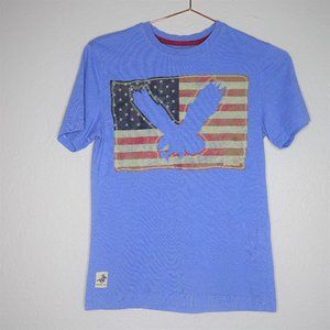 Winchester Eagle American Flag Boys T Shirt Size 8